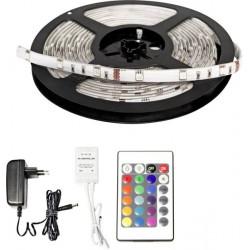 TRIXLINE 90 RGB LED szalag 5050 SMD 3 m szett távirányítóval (öntapadós)TR640